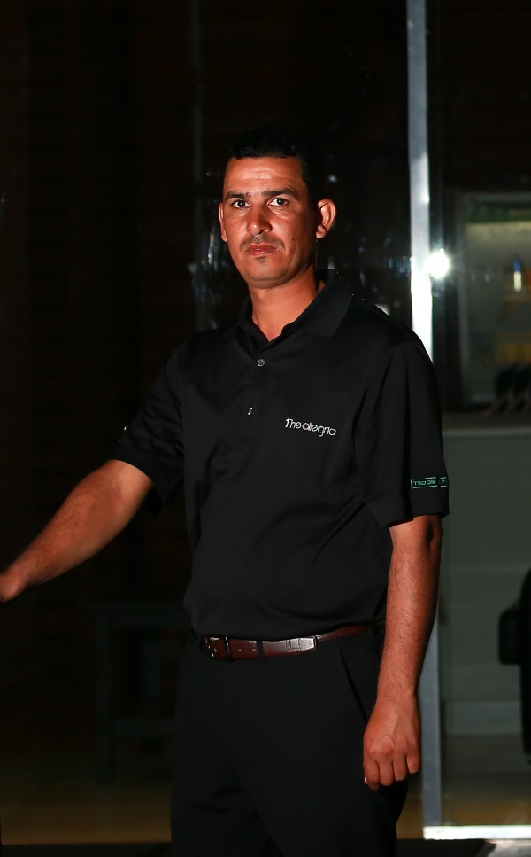Hany Samir - golf professional at the allegria